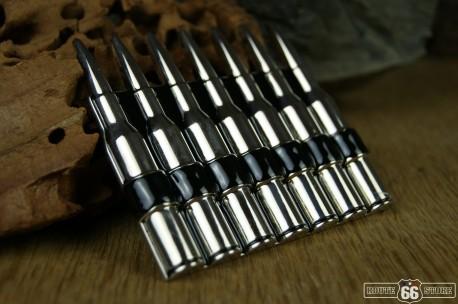 Přezka opasková Bullets chrom