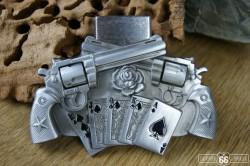 Přezka opasková Poker Spinner + zapalovač