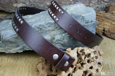 OPASEK LEATHER DARK BROWN ROCKER