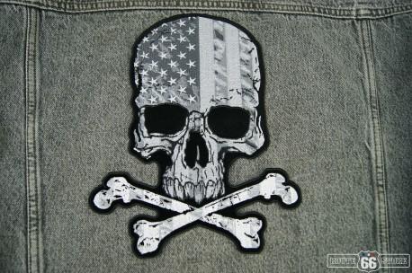 Nášivka Skull Flag XXL