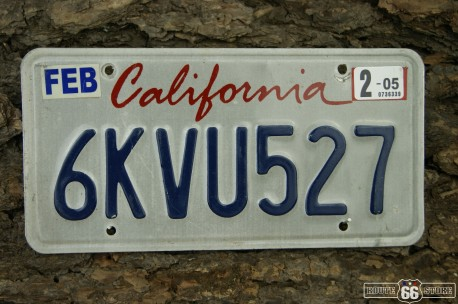 SPZ USA CALIFORNIA 6KVU527