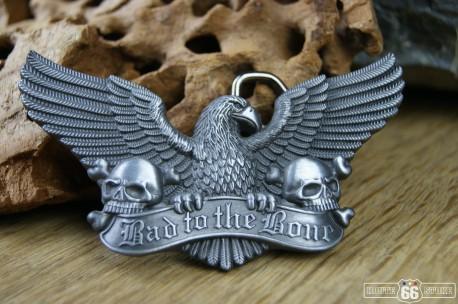 Přezka opasková Eagle Skulls Bad