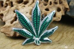 Přezka opasková Canabis Leaf
