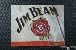 REKLAMNÍ CEDULE JIM BEAM