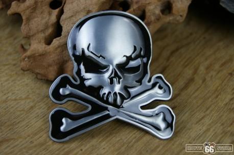 Přezka opasková Skull Cross Bones