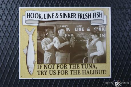 REKLAMNÍ CEDULE FRESH FISH