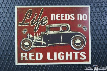 REKLAMNÍ CEDULE RED LIGHTS
