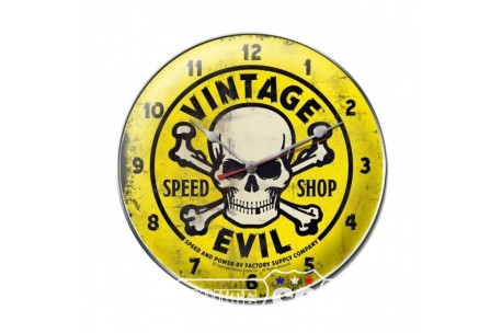 HODINY EVIL DEVIL YELLOW