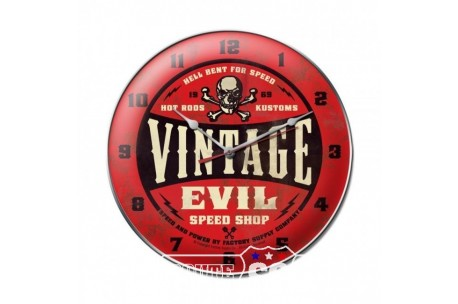 HODINY EVIL DEVIL RED