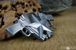 Přezka opasková Gun starokov + zapalovač